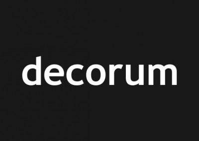 "decorum Kommunikation • <a href=""http://www.decorum-kommunikation.de"" target=""_blank"">Website</a>"
