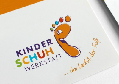 Branding · Kinderschuhwerkstatt