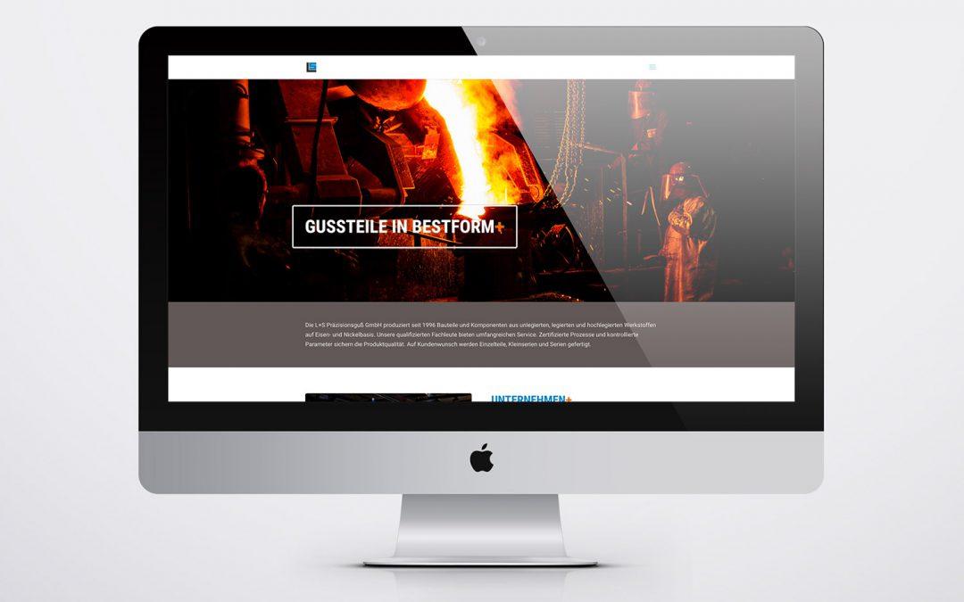 Website · L+S Präzisionsguß